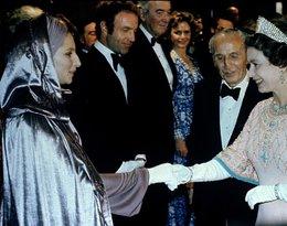 spotkanie królwej Elżbiety II z Barbra Streisand