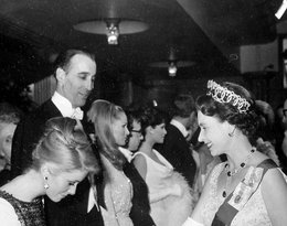 spotkanie królwej Elżbiety II z Katherine Denevue