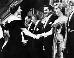 spotkanie królwej Elżbiety II z Marilyn Monroe