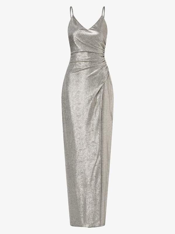 Srebrna sukienka