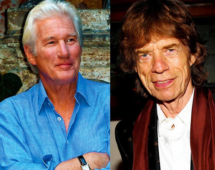 Starzy Ojcowie, Jagger, Gere