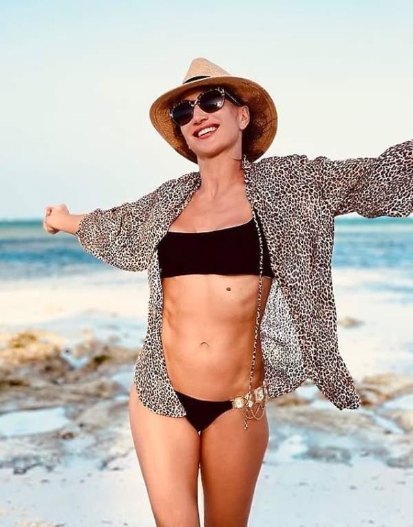 Steczkowska w bikini po ciąży, jak o siebie dba