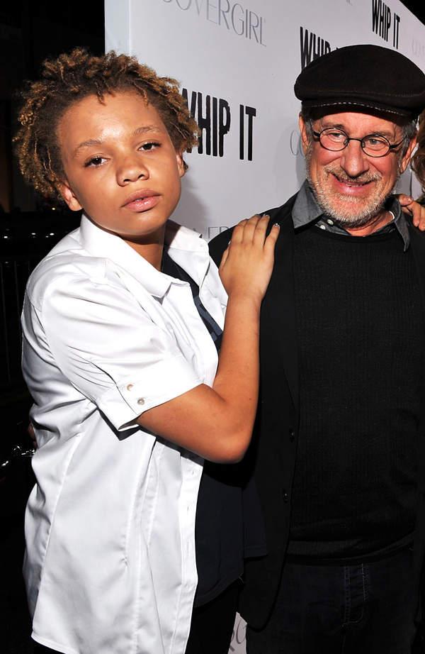 Steven Spielberg z córką, Mikaela Spielberg