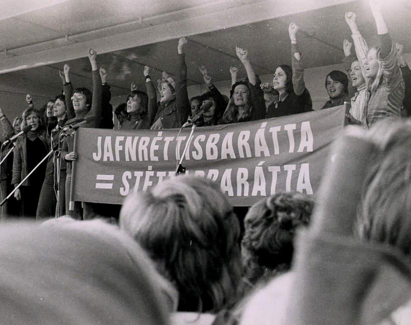 Strajk kobiet w Islandii w 1975 roku.jpg