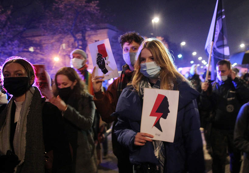 Strajk Kobiet, Warszawa 18.11.2020