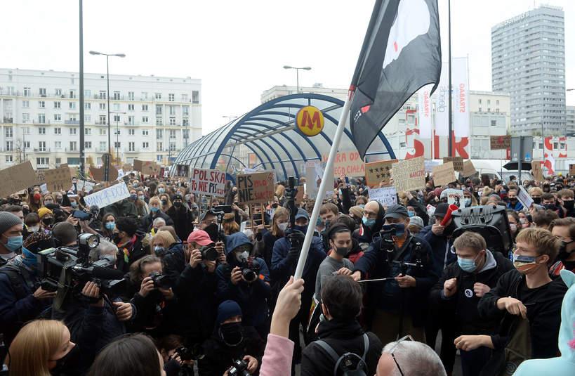 Strajk Kobiet, Warszawa, 28 października