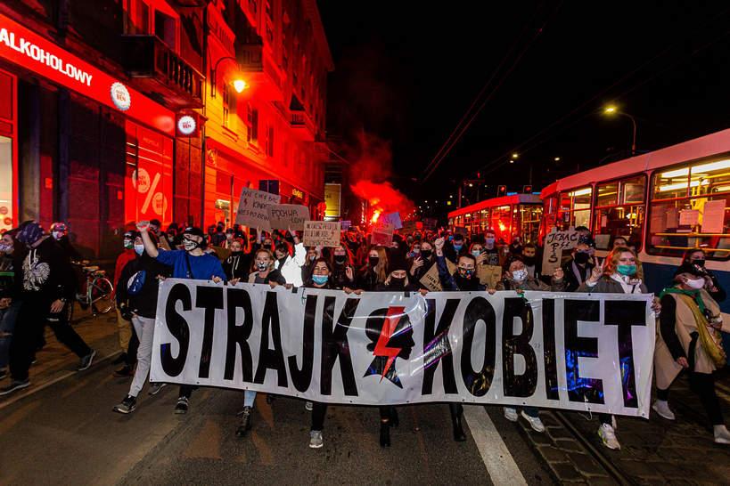 Strajk Kobiet, Wrocław, 28 października
