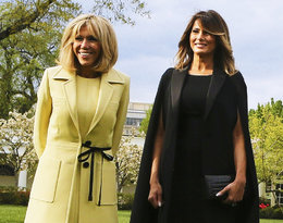 Melania Trump kontra Brigitte Macron, czyli modowy pojedynek na stylizacje