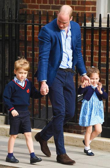 styl dzieci w rodzinie królewskiej