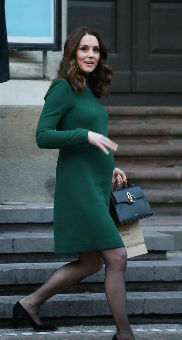 Stylizacje ciążowe księżnej Kate, księżna Kate w ciąży, księżna Kate i książę William w Szwecji