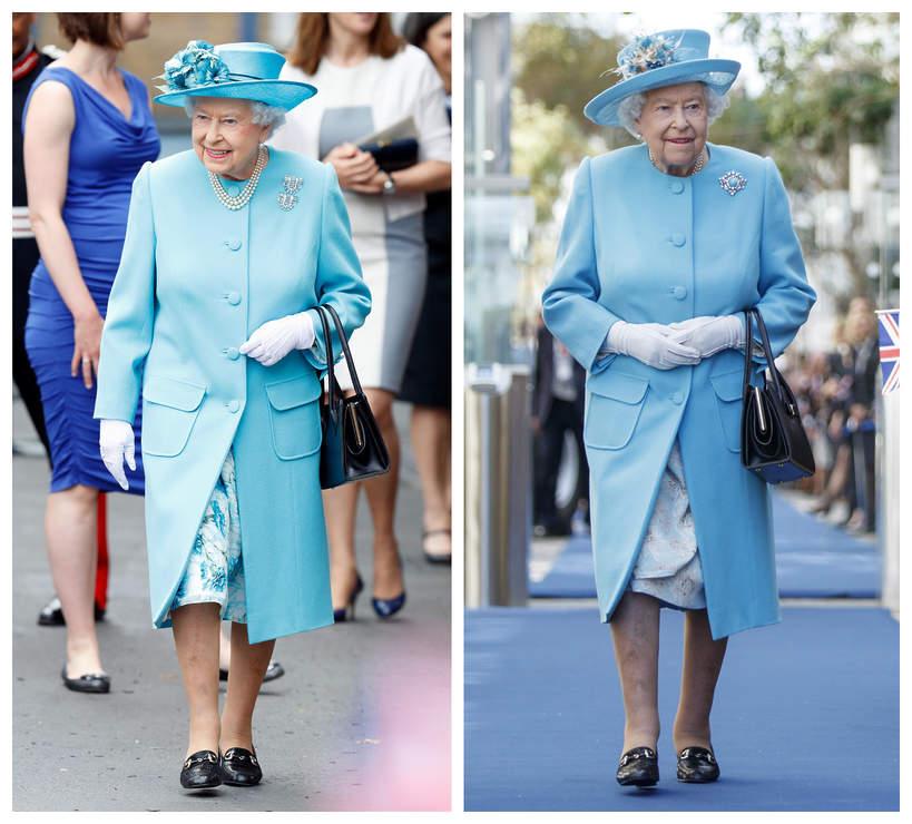 stylizacje królowej Elżbiety II