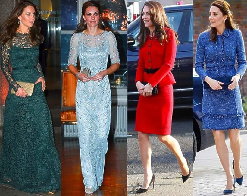 Stylizacje księżnej Kate