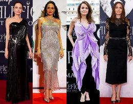 Angelina Jolie promuje najnowszy film i olśniewa stylizacjami!