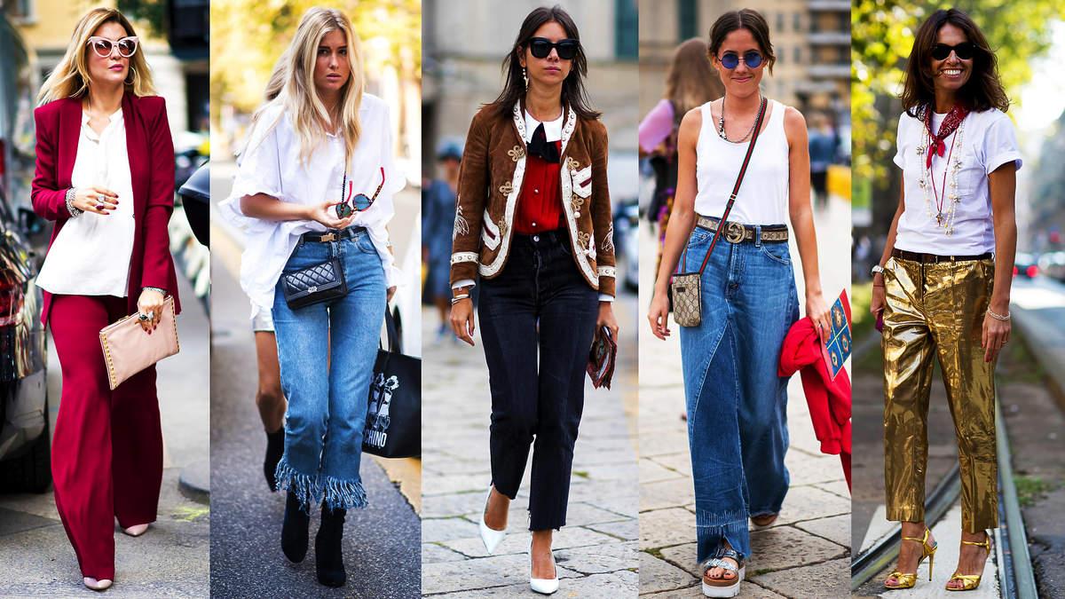 stylowe fasony spodni na lato 2021
