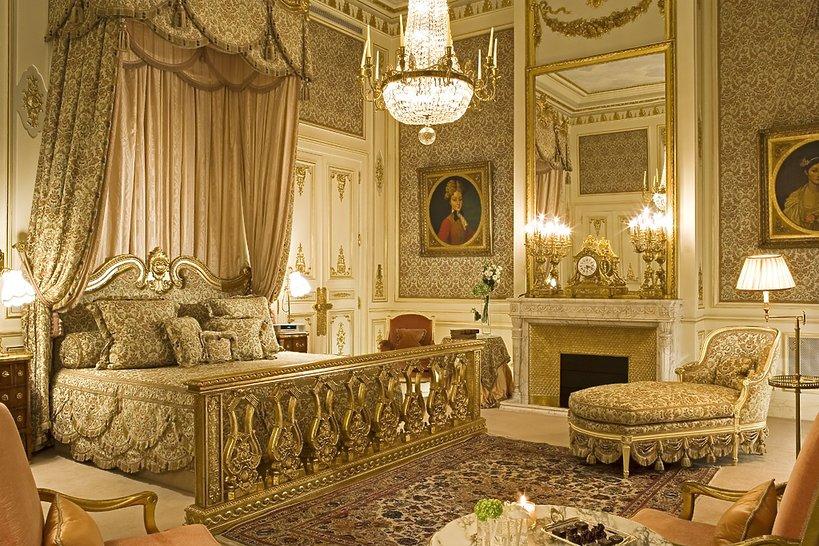 Suite Imperiale w Hotelu Ritz