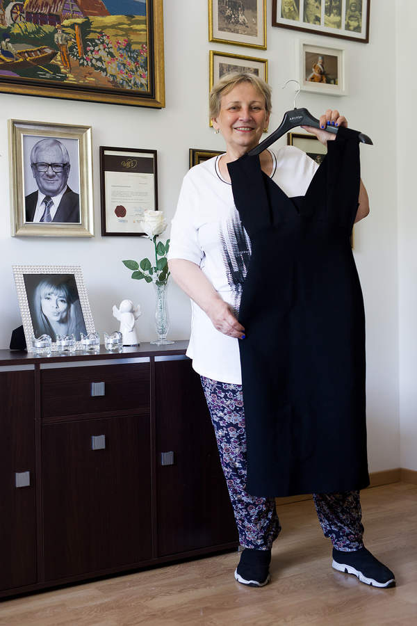 Sukienka Anny Przybylskiej, Krystyna Przybylska
