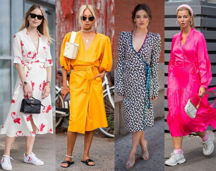 Sukienka kopertowa TRENDY 2020