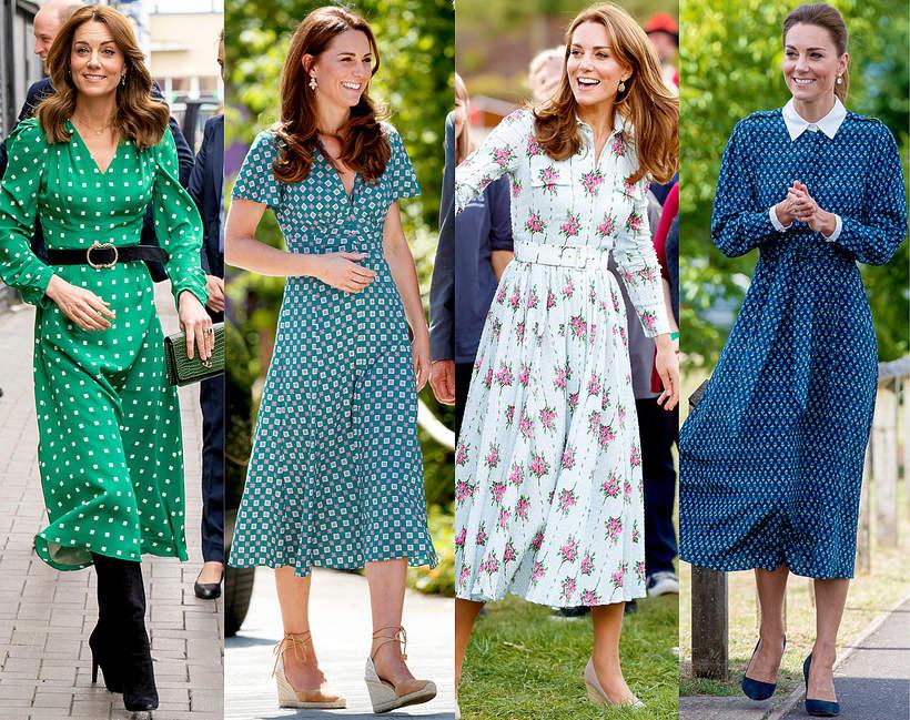 Sukienki księżnej Kate