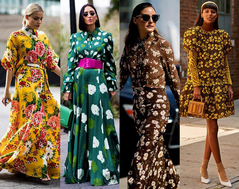 Sukienki modne w kwiaty na wiosnę 2020