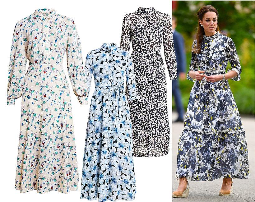 sukienki w stylu księżnej Kate, shopping