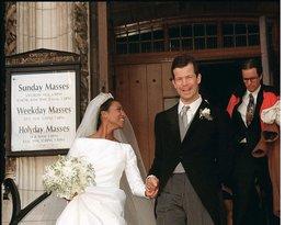 Suknia ślubna księżnej Angeli di Liechtenstein