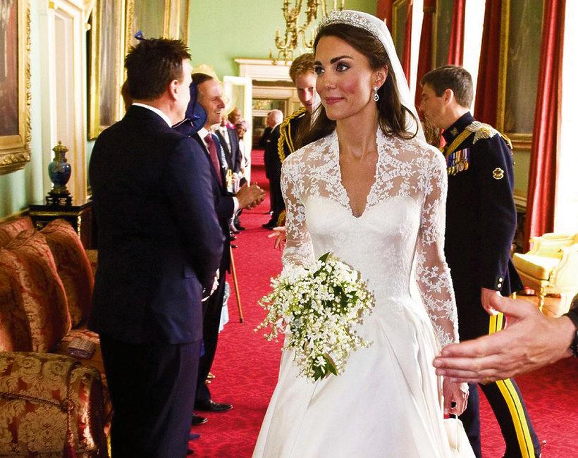 Suknia ślubna księżnej Kate, Kate Middleton