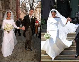 Suknia ślubna księżnej Meghan, księżna Angela di Liechtenstein