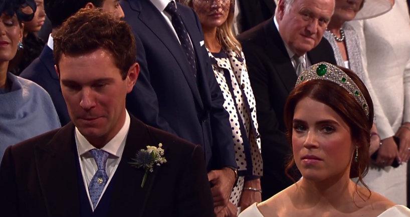 Suknia ślubna księżniczki Eugenii - screen