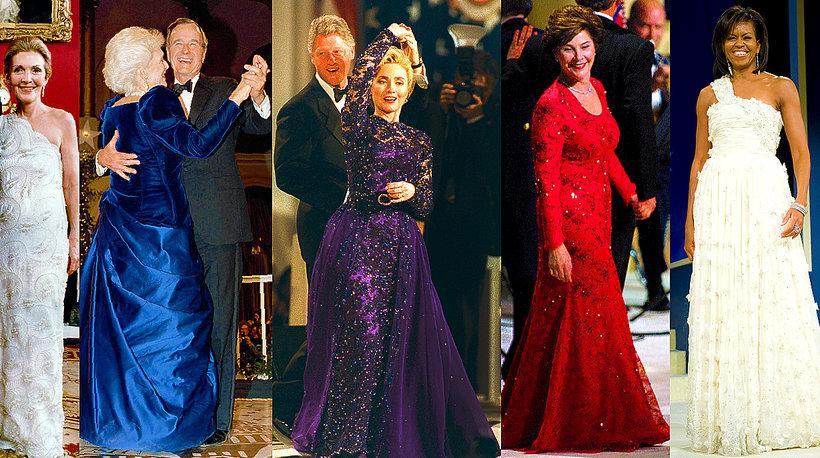 Suknie inauguracyjne