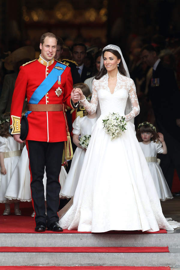 Suknie ślubne KAte, Diany i Meghan