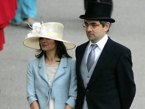 Sunetra Sastra, Rowan Atkinson