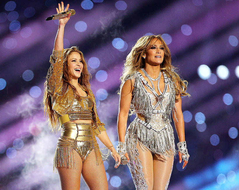 Super Bowl 2020 Shakira Jennifer Lopez