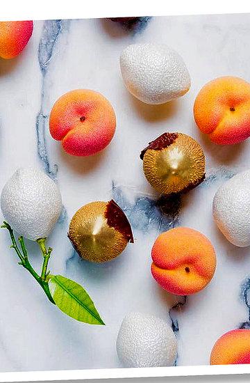 Surrealistyczne jedzenie, fotografia kulinarna, kuchnia, cukiernictwo