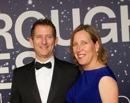 Susan Wojcicki z mężem