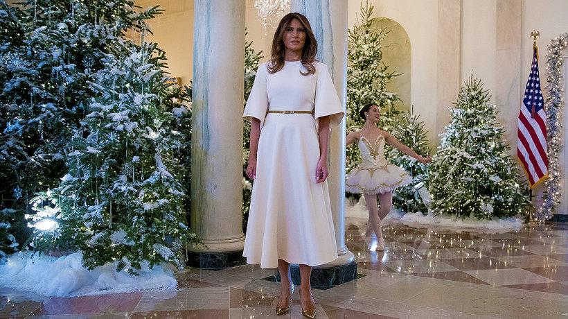 Świąteczne dekoracje Biały Dom, Melania Trump