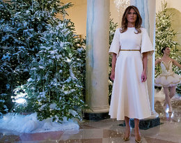 Biały Dom jest już gotowy na pierwsze Boże Narodzenie Trumpów! Pierwsza Dama pokazała bajkowe świąteczne dekoracje…