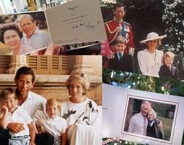 Pierwsze święta Diany, mały Harry i William... Tak wyglądają świąteczne kartki Windsorów!