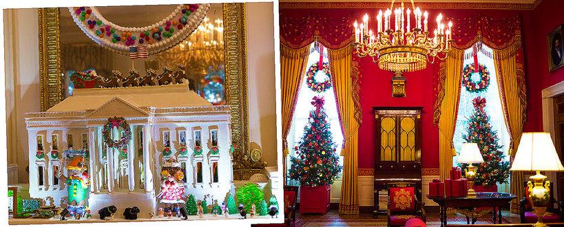 Świąteczny Biały Dom