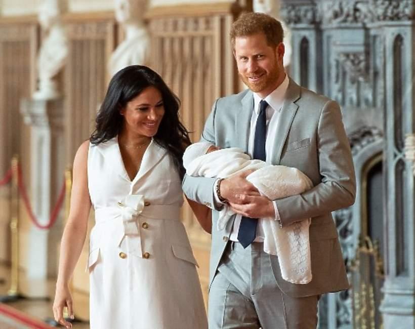 syn Harryego i Meghan Archie Harrison Mountbatten-Windsor