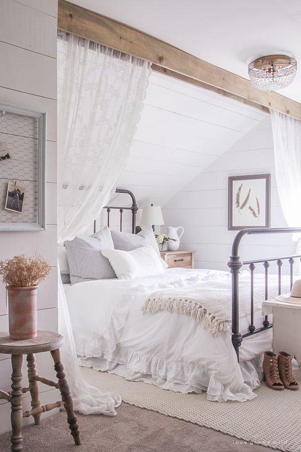 Sypialnia marzeń, zasłony