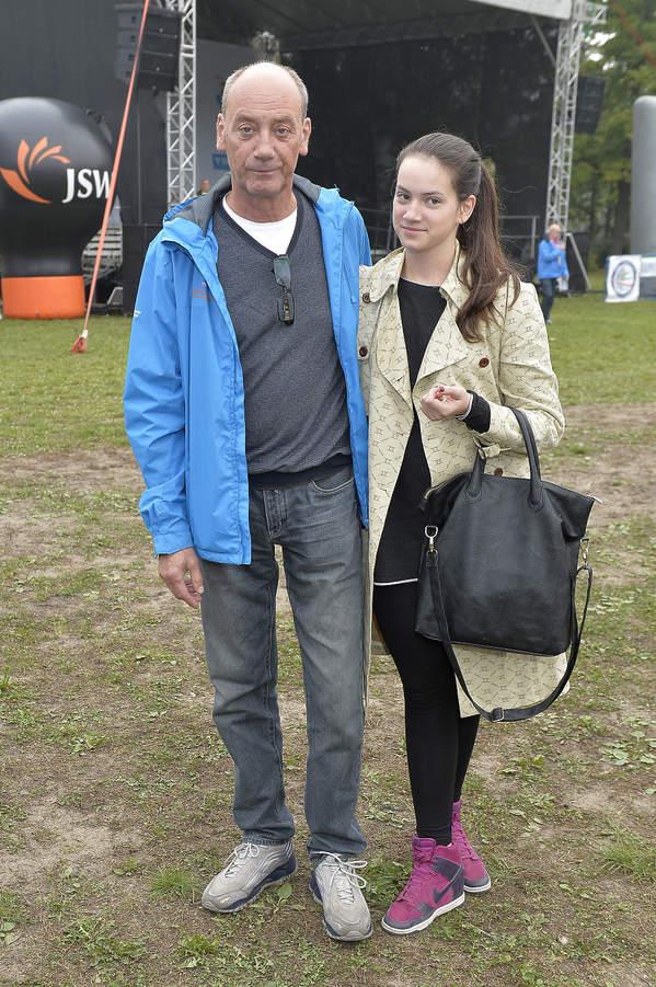 szpakowski z córką