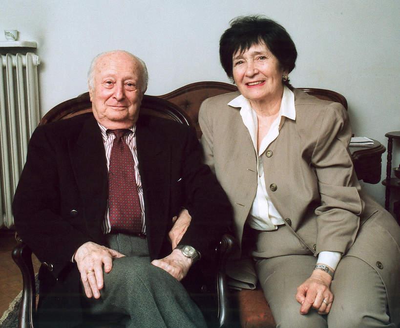 szpilman z żoną  starsi