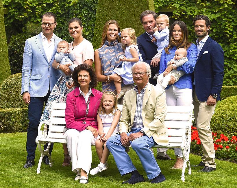 Szwedzka rodzina królewska