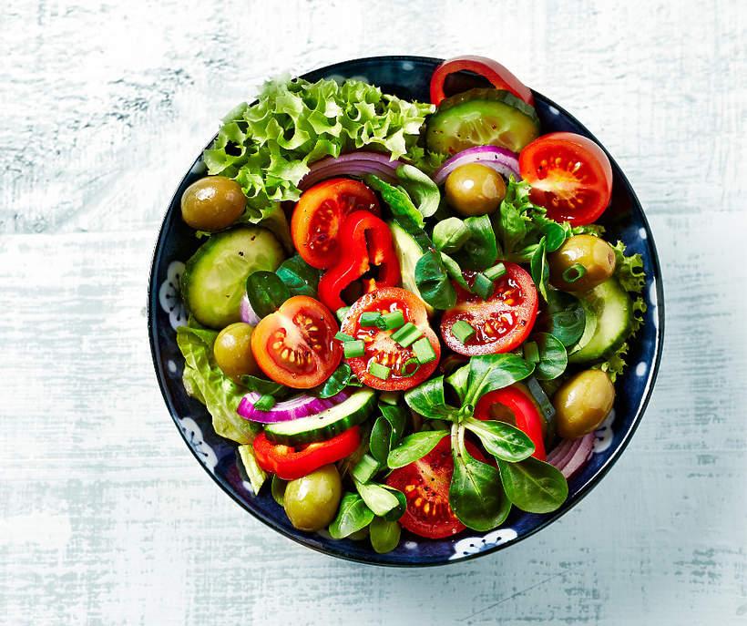 Szybkie salatki w 10 minut