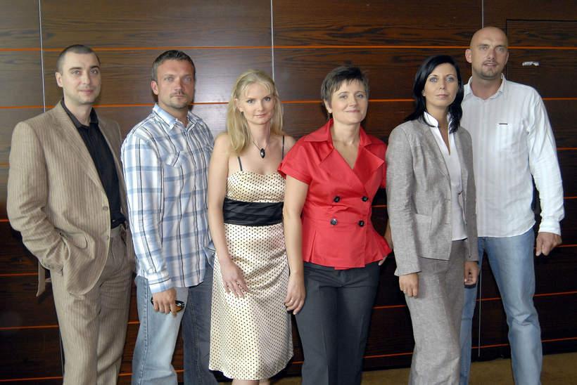 Szymon Majewski , Sebastian Watroba , Joanna Czechowska , Anna Potaczek , Maciej Debosz , Anna Palka , Rafal Kopacz, 2008 rok