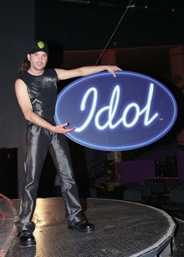 Szymon Wydra w programie Idol, 2002 rok