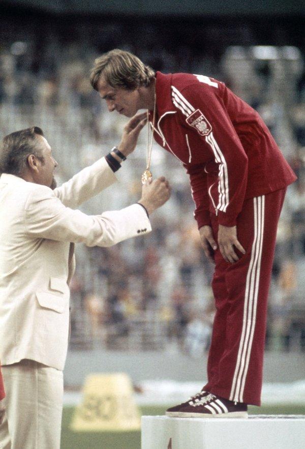 Tadeusz Ślusarski, olimpiada w Montrealu 1976, złoty medal w skoku o tyczce