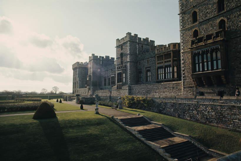 Tajne dokumenty Windsorów, tajemnice Windsorów, Zamek WIndsor