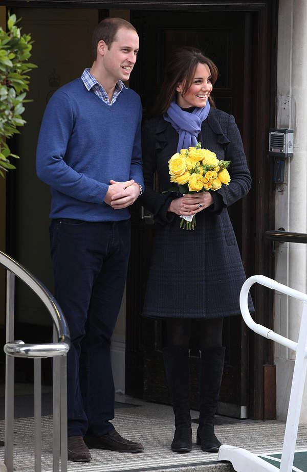Tak ogłaszano ciąże w rodzinie Windsorów: księżna Kate w ciąży