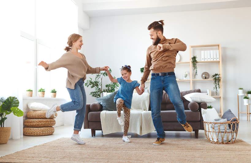 taniec z dzieckiem